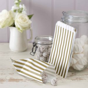 "Candy Bags ""Gold & Elfenbein"""