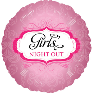 Folienballon rund, Girls Night Out