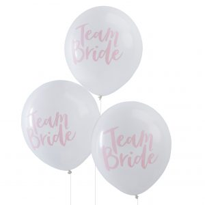 Latexballons - Team Bride